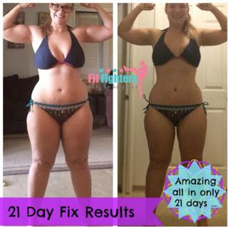 21 Day Fix Weight Loss Story Success Results