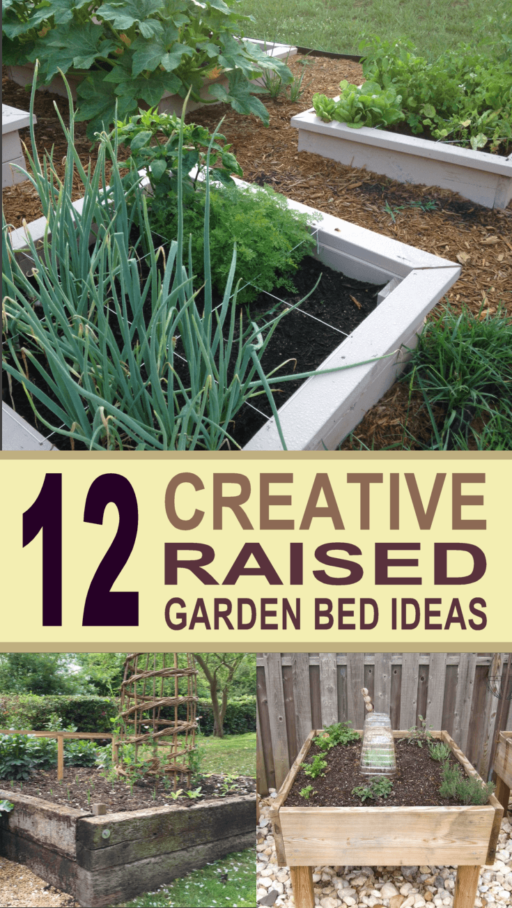 Beau 12 Creative Raised Garden Bed Ideas