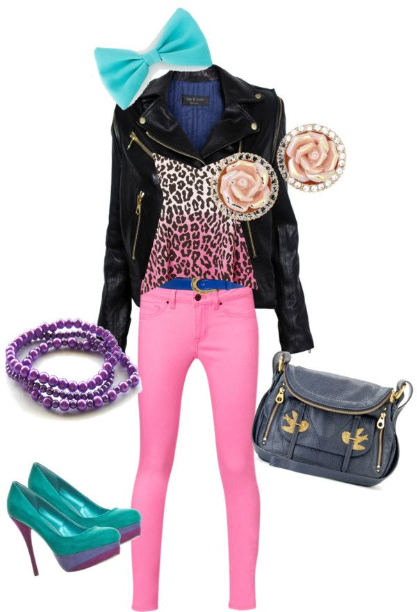 """""""Color Love"""" by poisonzebrajohnson on Polyvore"""