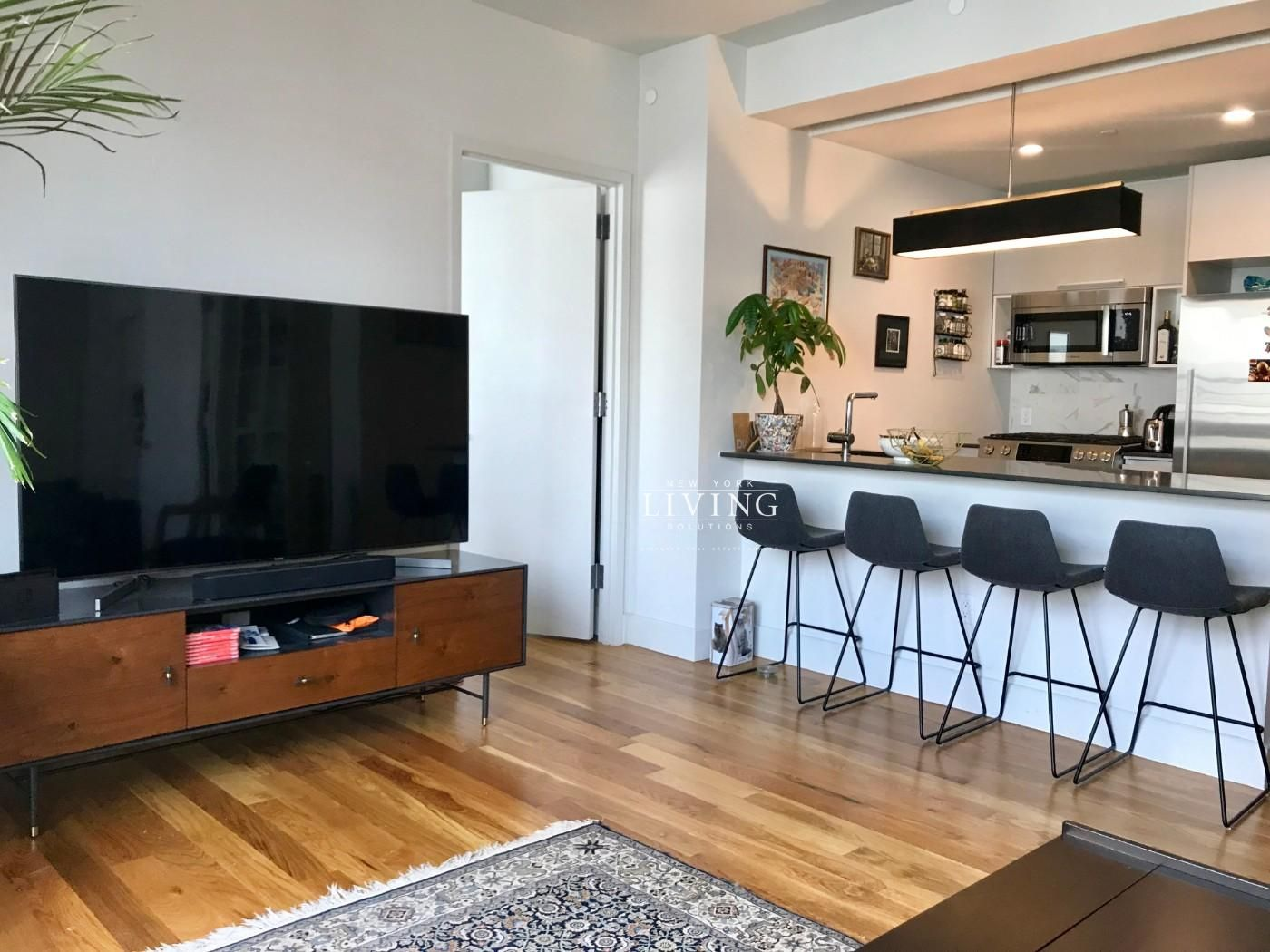 2 Bedrooms 1 Bathroom Apartment For Sale In Brooklyn Apartment Makeover White Wall Bedroom Two Bedroom Apartments