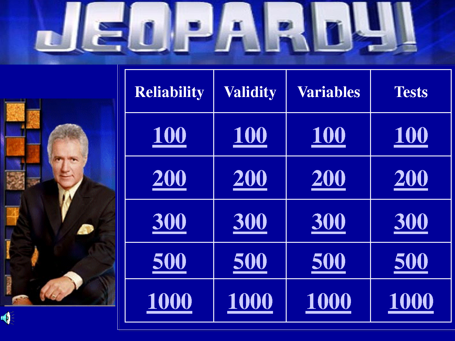Jeopardy Powerpoint Template Oopstheme Com  Teaching Resources