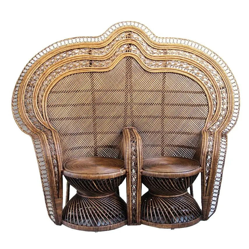 Double Peacock Chair in 2020 Chair, Retro office chair