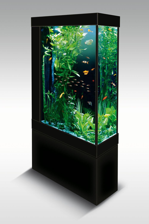 1000 1500 naxos vertical plasma aquarium for Vertical fish tank