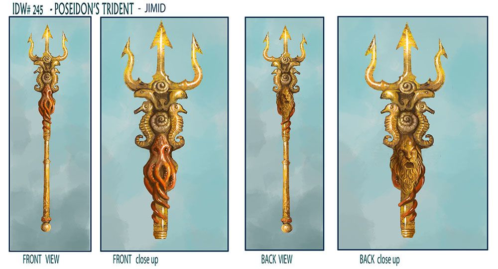 Poseidon Staff Tattoo: Attachment.php (1000×541) (With Images)
