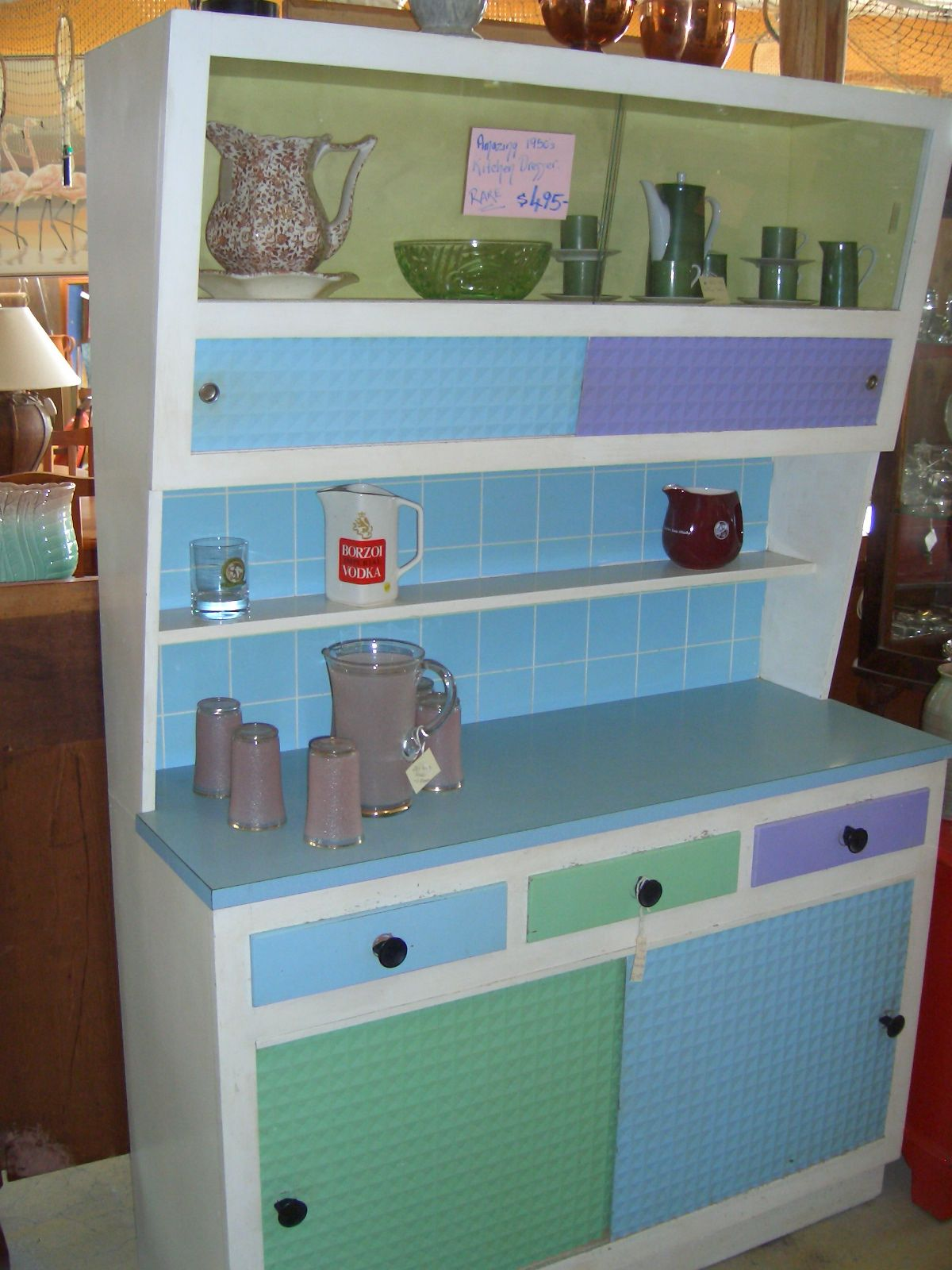this is an Amazing 1950\'s Kitchen Dresser... | Vintage Styling ...