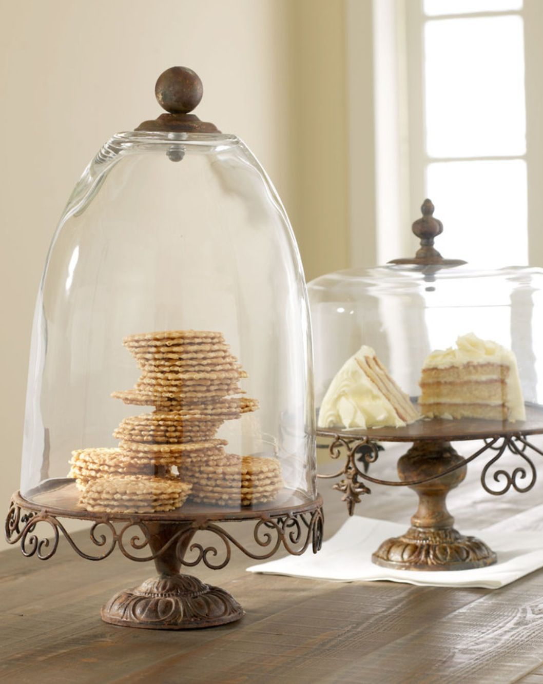 Horchow Cake Stand Amp Glass Dome Interior Kitchen