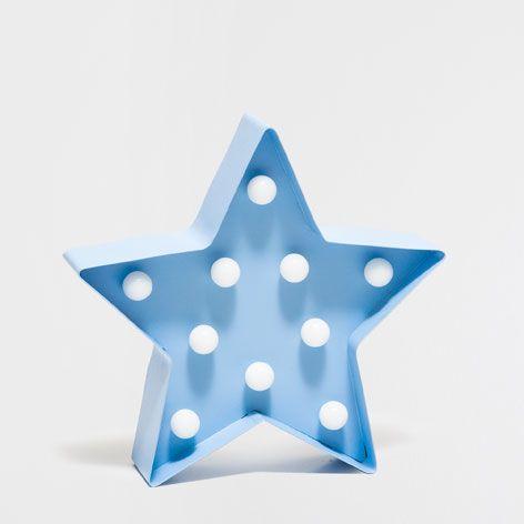 L mpara estrella muebles y l mparas decoraci n nueva for Zara home lamparas techo