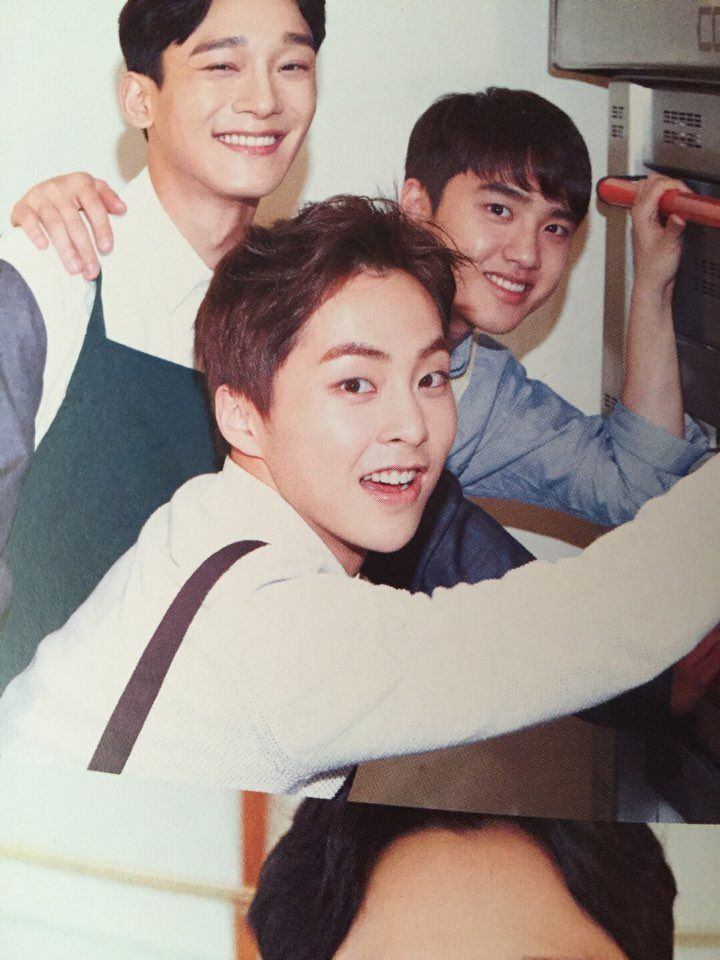 "「EXO FANBASE 」 on Twitter: ""EXO-L JAPAN OFFICIAL BOOK Vol.4 - XIUMIN CHEN D.O. [cr: harulin0326] https://t.co/QjI0DomeyL"""