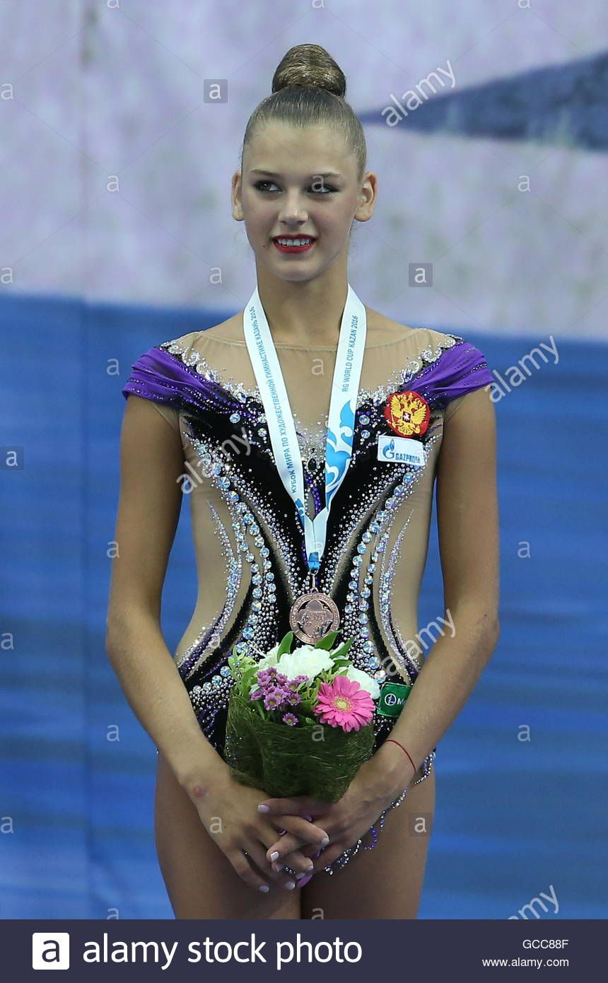 6bb6643f2 Kazan, Russia. 8th July, 2016. Bronze Medalist, Russian Rhythmic ...