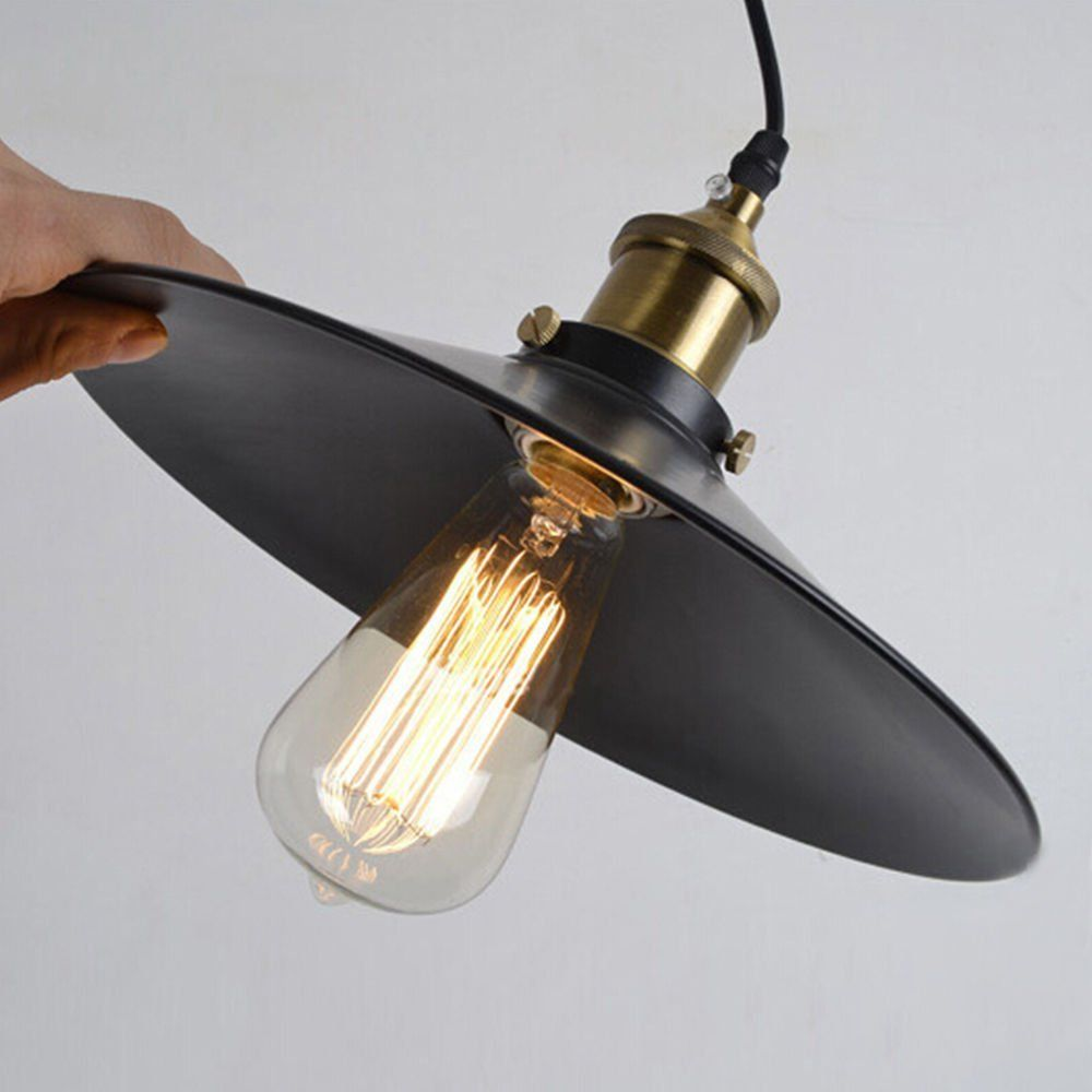 Projecteur Industriel 1 Lumière Mini Pendentif en cuivre