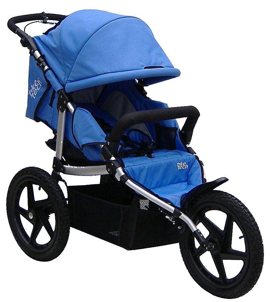 Tike Tech X3 Sport All Terrain Stroller Pacific Blue