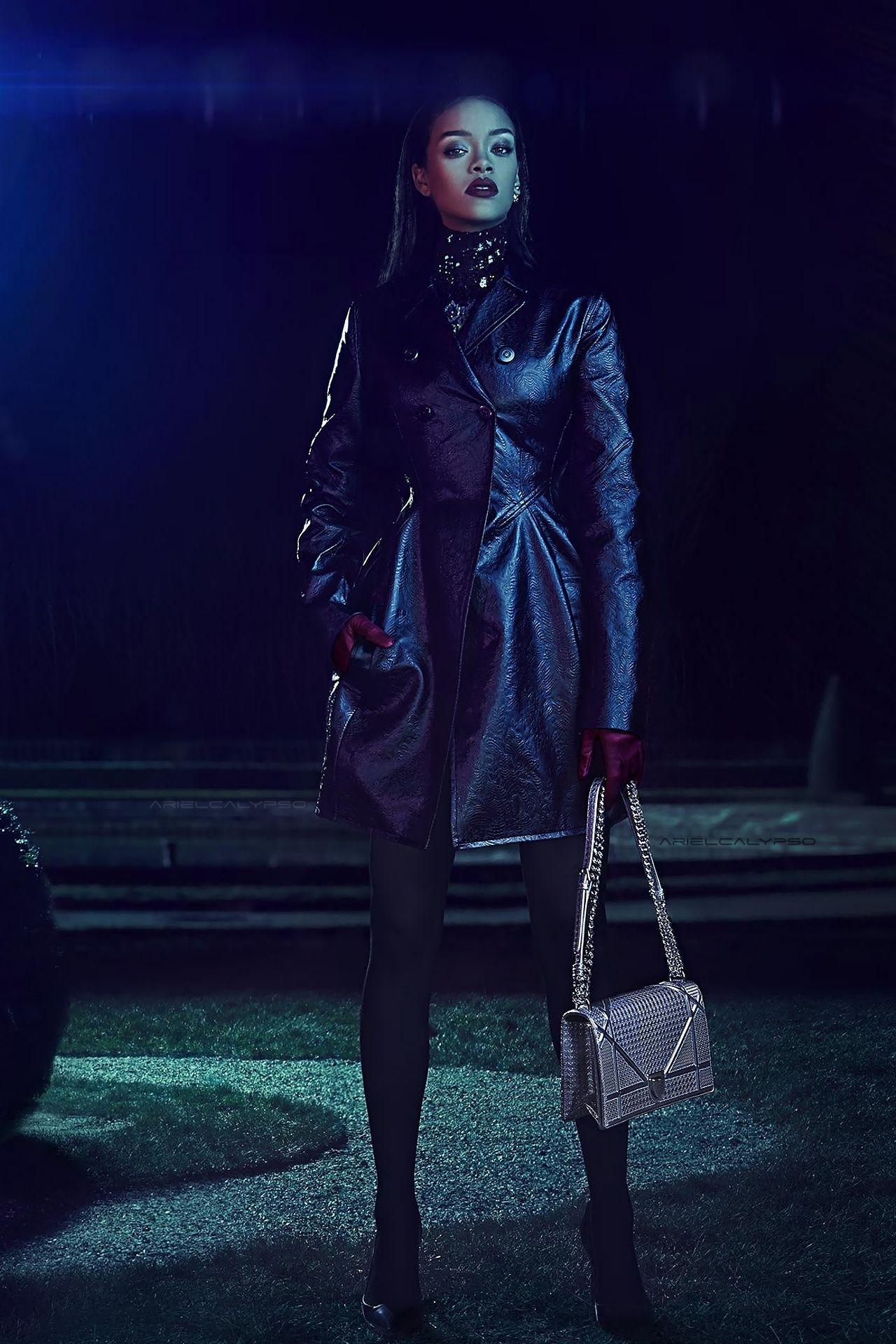 f011c61a9823 Rihanna by Steven Klein for Dior Secret Garden 2015