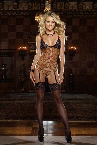 leopard lingerie