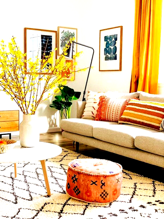 living room decor trends , warm tone decor ideas, cozy decor design, modern interior decorating, remodeling inspiration #modernhomedecorlivingroom #homedecor
