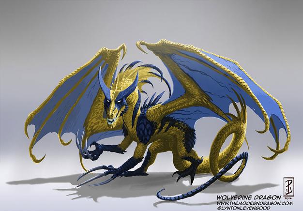 Wolverine Dragon