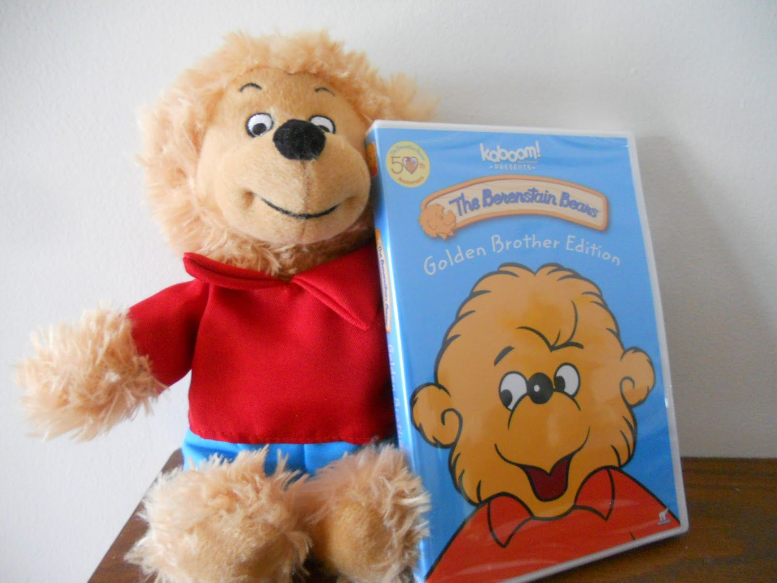 Golden Brother Bear With Dvd