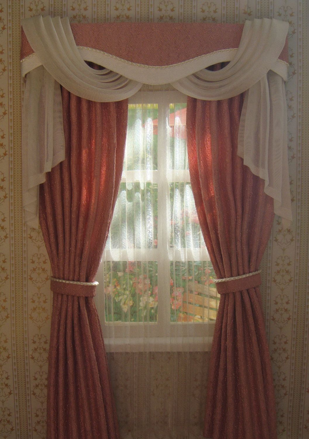 Miniature 1 12 Dollhouse Curtains On Order By Tanyashevtsova