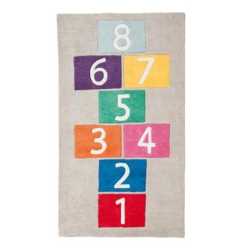Tapis Marelle Multicolore Oxybul Pour Enfant De 3 Ans à 10 Ans