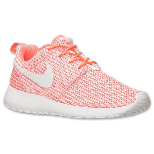 Femmes Nike Roshe Courir Chaussures De Sport Lave Chaude / Blanc sneakernews à vendre acheter sortie vente visite nouvelle vraiment DdveT