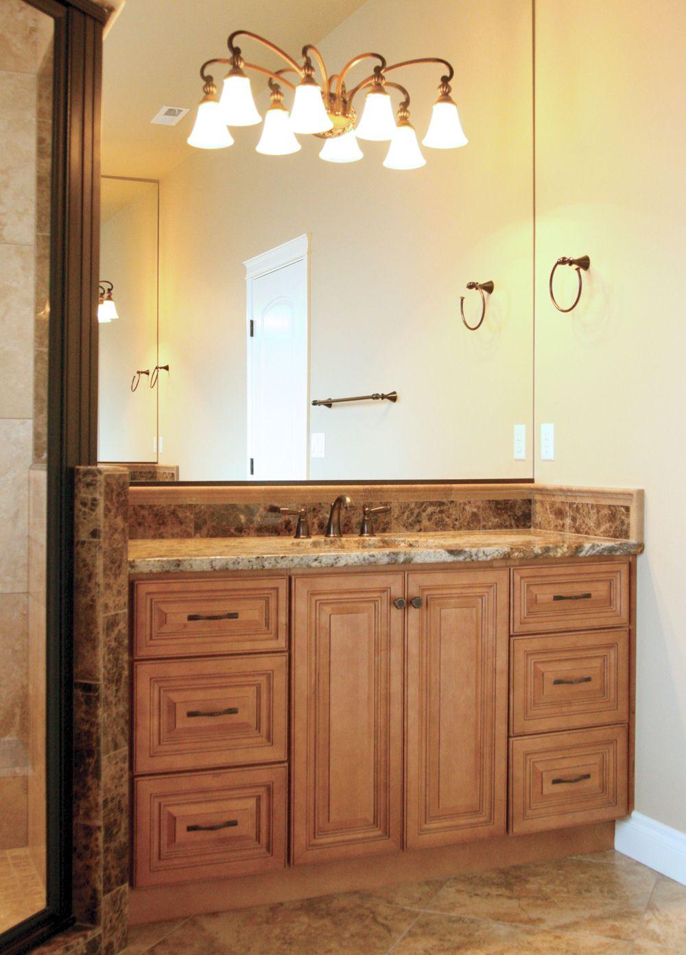 Cinnamon Maple Glazed Cabinet Grandjk Diy Kitchen Remodel New Kitchen Cabinets Kitchen Cabinet Design