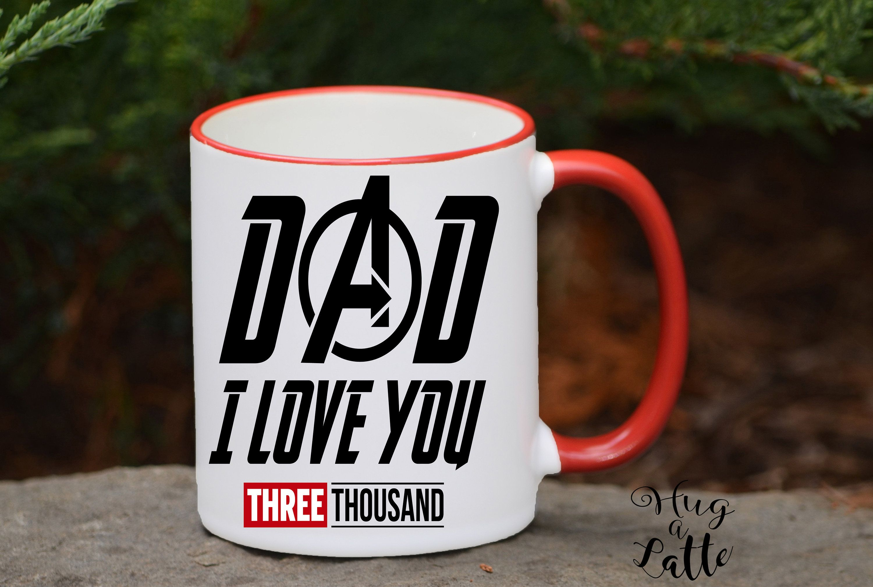 I Love You 3000 Avengers Gift For Father's Day Free