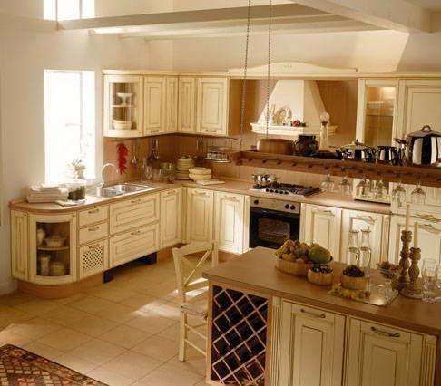 Risultati immagini per cucina provenzale con isola | Home style ...