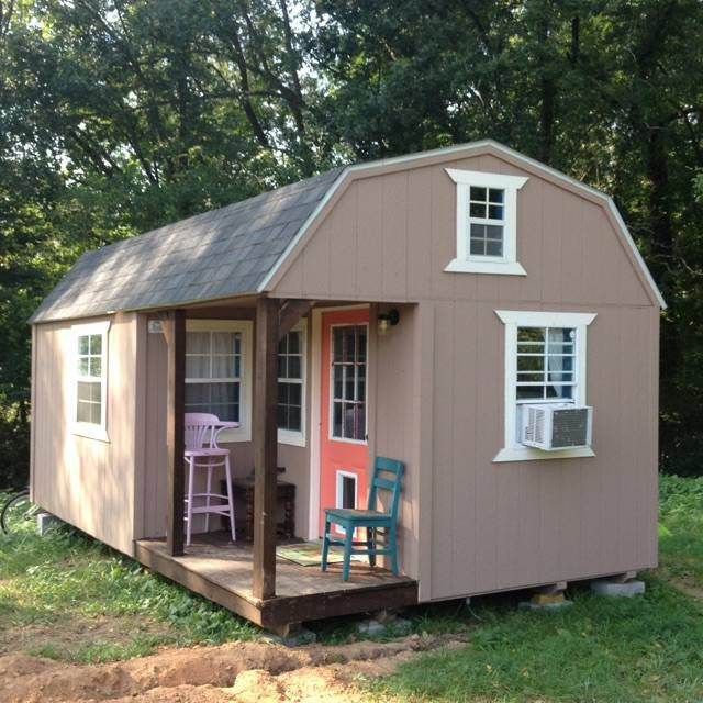 Rent Cheap Homes: The Barn Style Tiny Home Price: $10,500 Square Footage