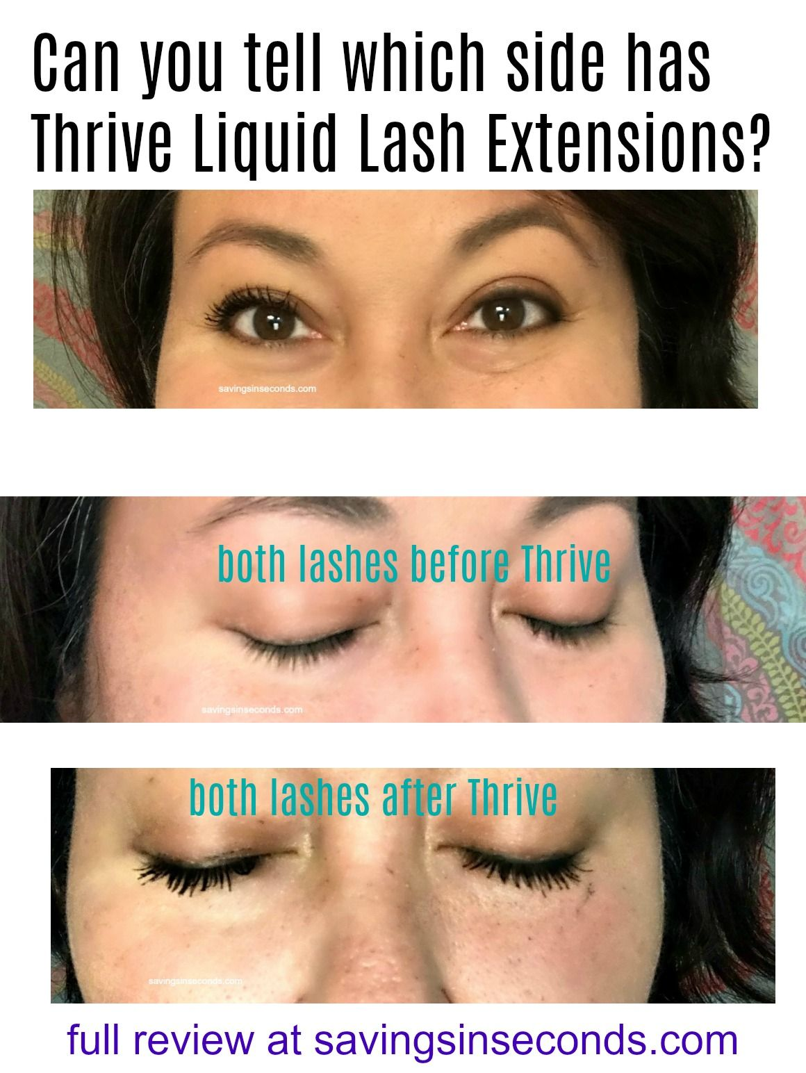 2e966e95bc3 Savings in Seconds | Thrive Causemetics Liquid Lash Extensions Mascara  review $10 off $50 purchase code #Giveaway
