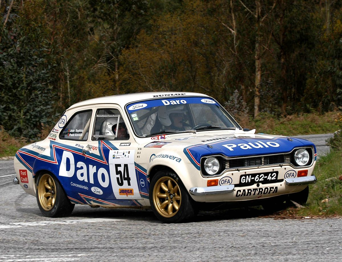 Ford Escort mark I rally car | Ford Motorsport | Pinterest | Ford ...