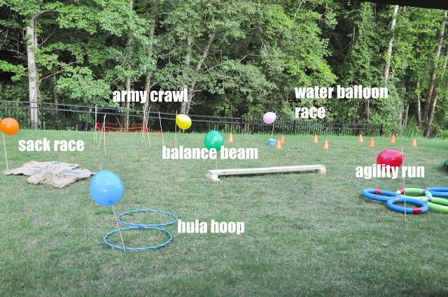 How to Create a Backyard Obstacle Course for Your Kids (With ...