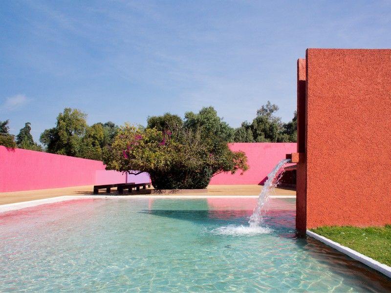 Luis Barragan L Architecte Coloriste Mexicain Architecte
