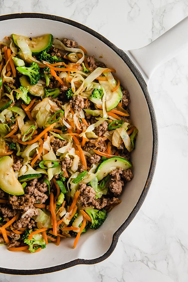 Ground Beef Stir Fry (Paleo, Whole30, AIP) images