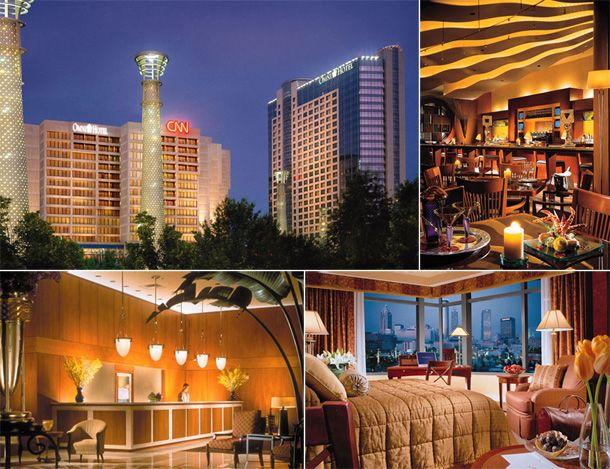 Omni Hotel Cnn Center At Centennial Olympic Park Atlanta Ga Business Trip 2017