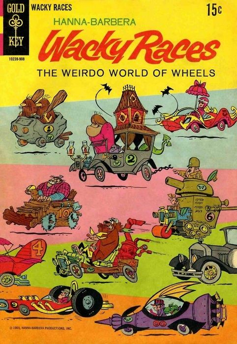The Best Thing About This Cartoon Were The Coolest Of Cars It