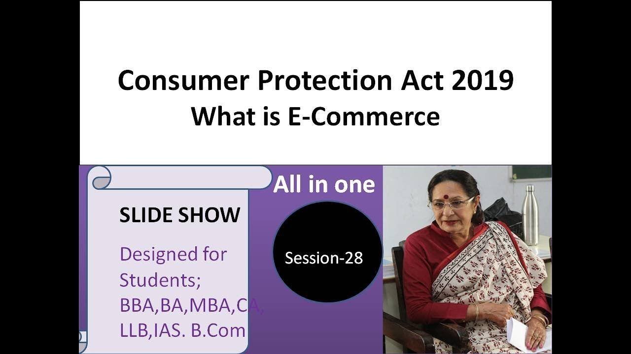 Consumer Protection Act 2019 What Is E Commerce All In One Consumer Protection Ecommerce Acting
