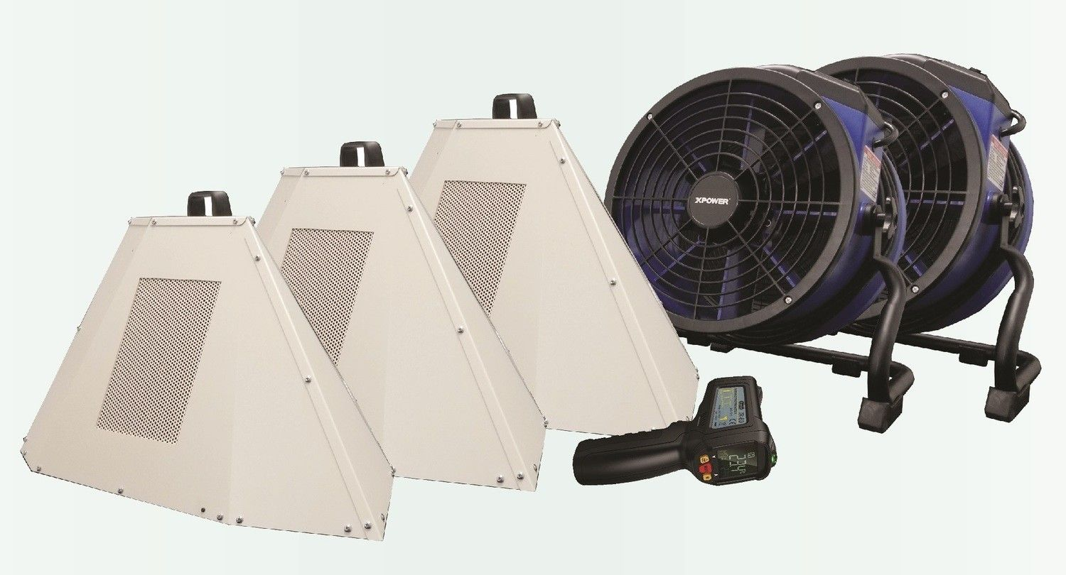 Our Products Efficient heating, Flood damage, Kill bed bugs