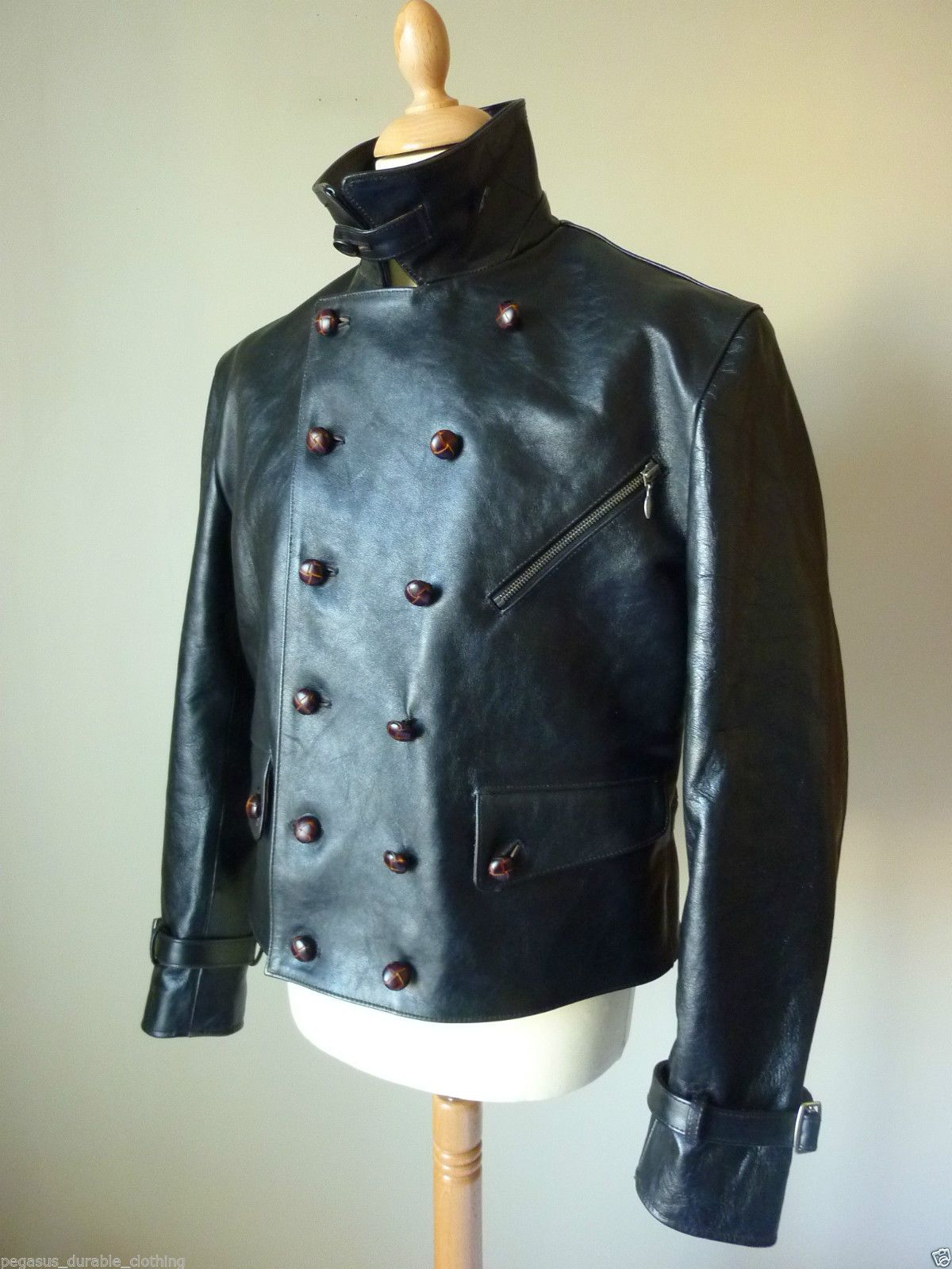 Pegasus Double Breasted Luftwaffe He Double Breasted Or Doppelreihiger Luftwaffe Style Was Made Famous Leather Jacket Men Leather Coat Jacket Vintage Jacket [ 1600 x 1200 Pixel ]