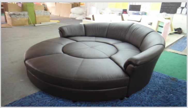 Round Sofa As A Bed