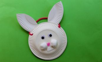Make a paper plate Easter bunny basket for your egg hunt this year. A fun & Make a paper plate Easter bunny basket for your egg hunt this year ...