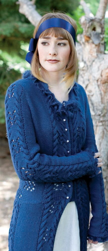 Northanger Pelisse by Karin Wilmoth | Knitting Patterns for Women ...