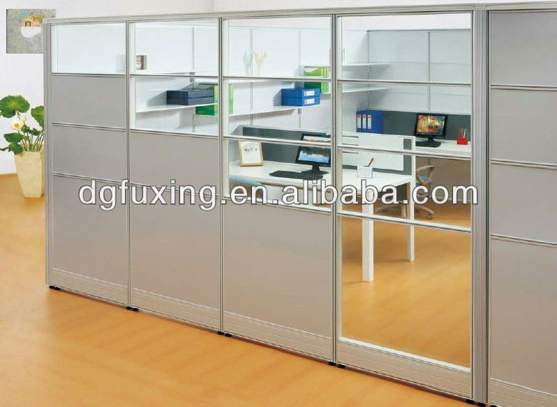 Plywood Modern Design Office Partitions L Shape Office Partition