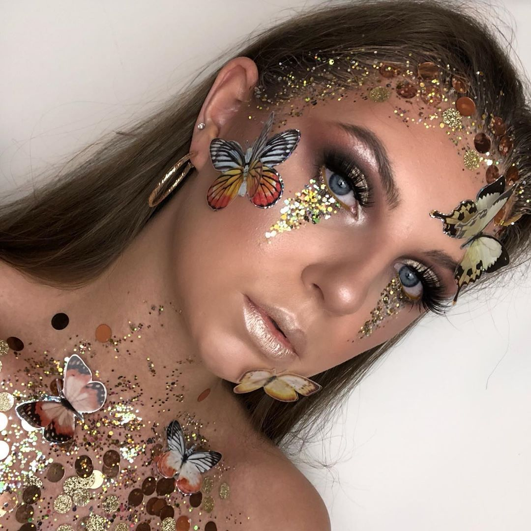 "Leah on Instagram ""Day 30 of 30daysofmakeup 🌟 inspired"