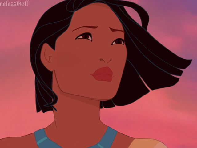 These Disney Princesses With Short Hair Are Almost -3669