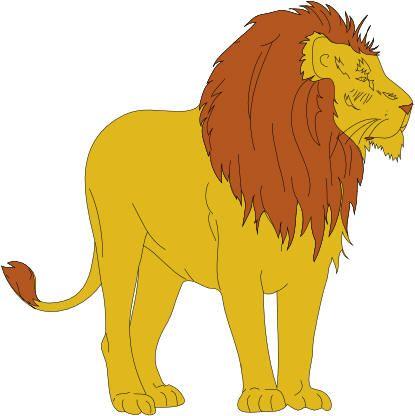 Lion Clip Art   The Task