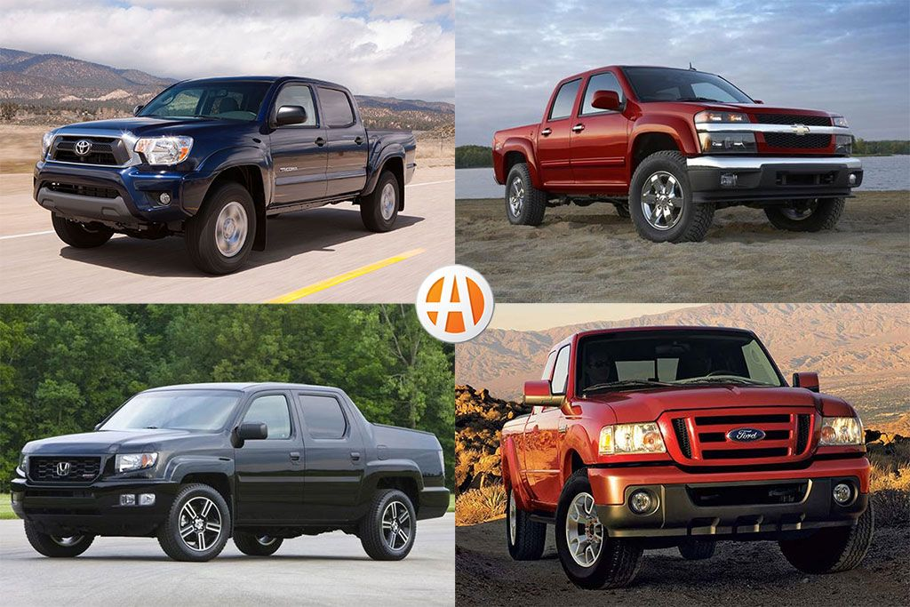 Best Used Midsize Pickups Under 15,000 for 2020 in 2020