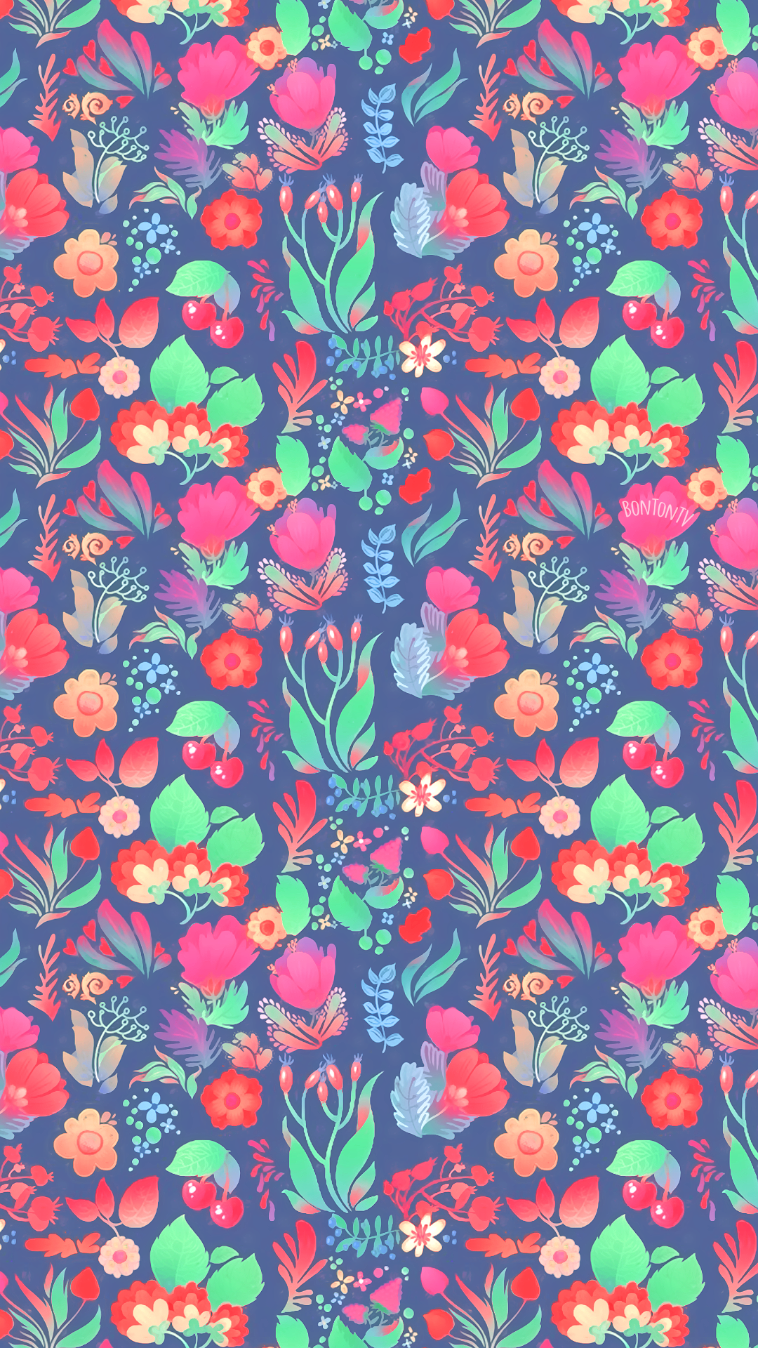 Phone Wallpapers Hd Colorful Flowers By Bonton Tv Free Backgrounds 1080x1920 Wallpapers Iphone Hd Wallpaper Girly Color Wallpaper Iphone Phone Wallpaper