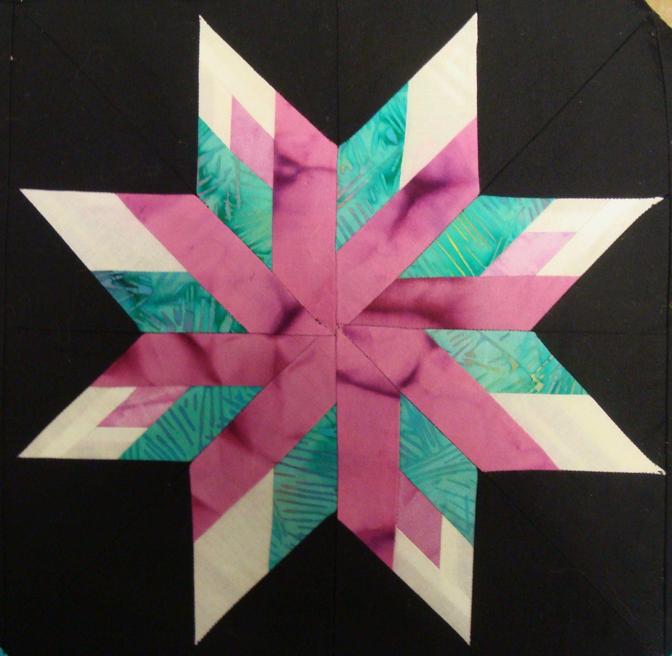 Hawaii star quilt block | Quilt Blocks | Pinterest