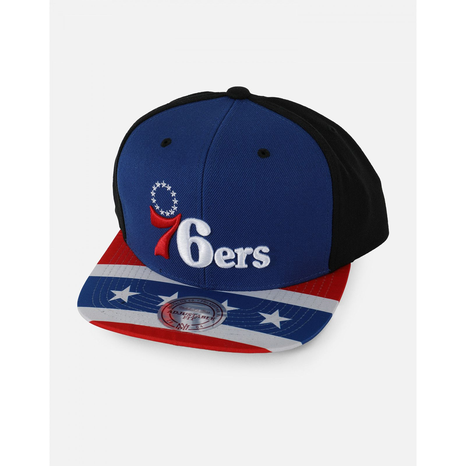 728977e6e5540 Philadelphia 76ers Team Snapback - 1