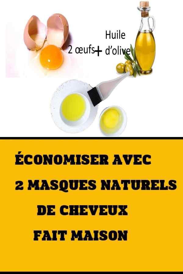 Economiser Avec 2 Masques Naturels De Cheveux Fait Maison Masque Naturel Cheveux Masque Naturel Remede Pour Cheveux
