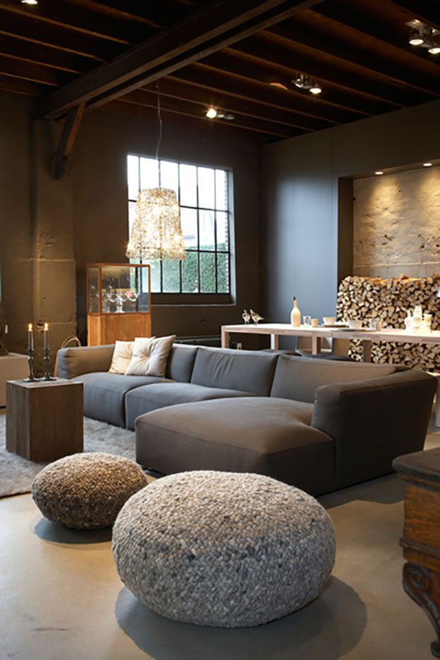 Cosy Chalet Style For Your Home By Carole Poirot Basement
